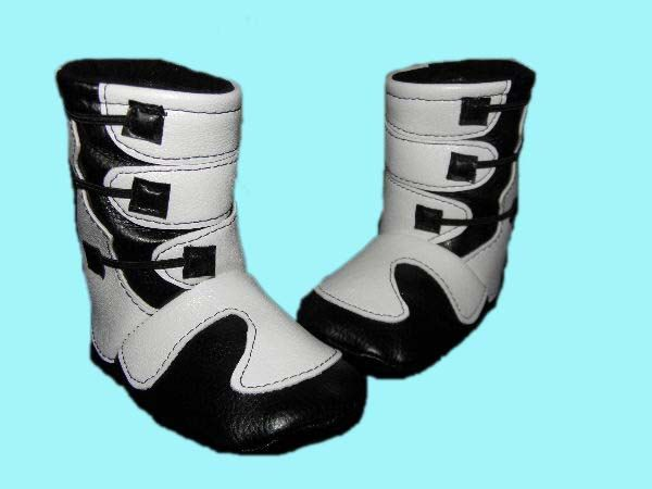 Motocross Baby Boots 0-6 Months by bellalise on Etsy https://www.etsy.com/listing/219552932/motocross-baby-boots-0-6-months