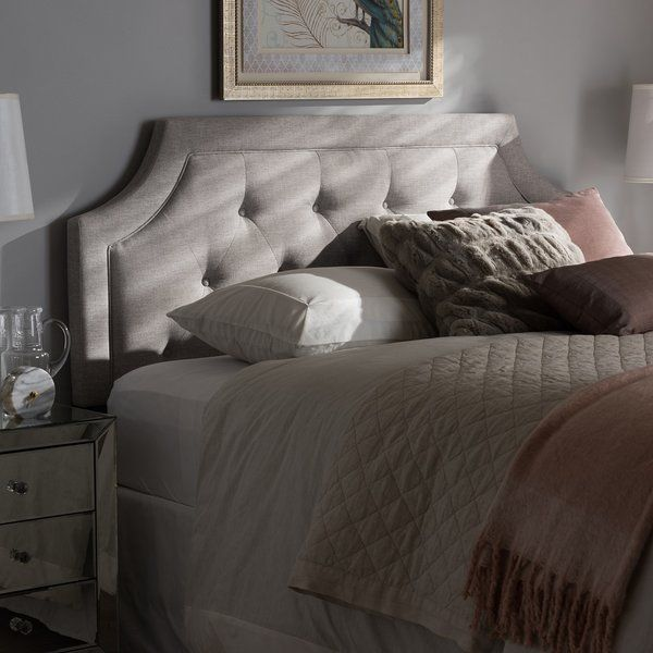 Rico Modern And Contemporary Upholstered Panel Headboard