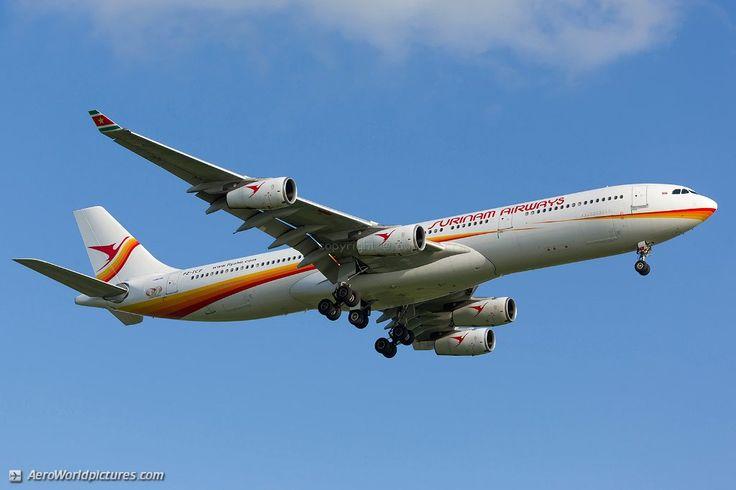 36 Surinam Airways Airbus A340-311 PZ-TCP