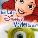 Список анимированных Диснея Фильмы по годам