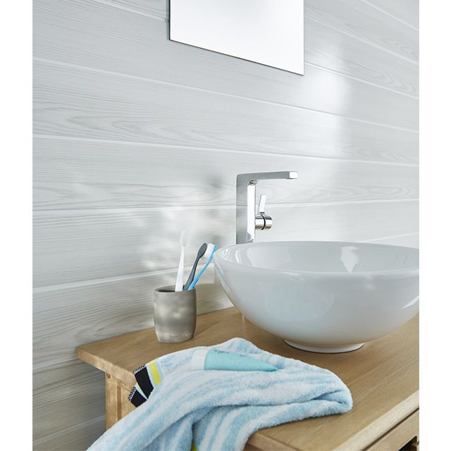 lambris 1er prix casto cf flat lambris pvc lambris pvc blanc et lambris. Black Bedroom Furniture Sets. Home Design Ideas