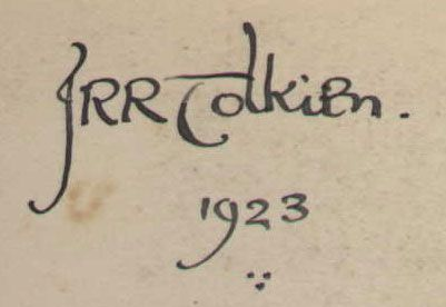 "Looking at snippets of the penmanship that came from J.R.R. Tolkien's hand, you'd think these lines could have been written in the ""strong but graceful script"" of Gandalf himself... (via BP..."