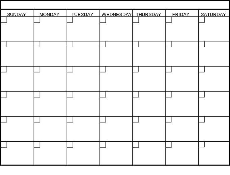 best 20 blank calendar ideas on pinterest blank monthly