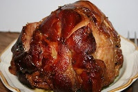 Tricia Yearwood's Baked Ham with Brown Sugar Honey Glaze