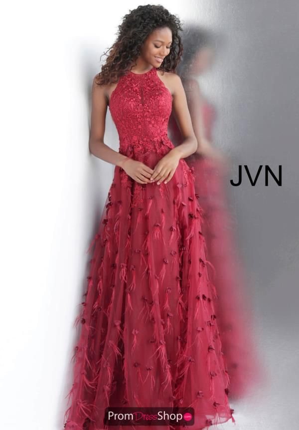 a75982f6831 This one of a kind long dress JVN6696 from JVN by Jovani is sure to set