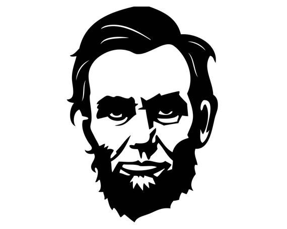Abraham Lincoln Svg Png Jpeg Eps File President Vector Etsy In 2021 Vector Portrait Silhouette Art Portrait Images