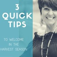 3 Quick Tips to Welcome in the Harvest Season by Jackie Greene, CEO & Founder on SoundCloud