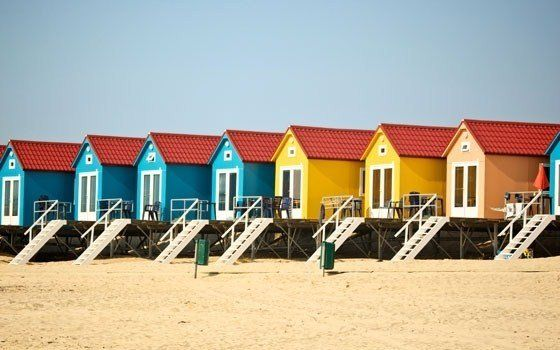 Beach houses at Koudekerke