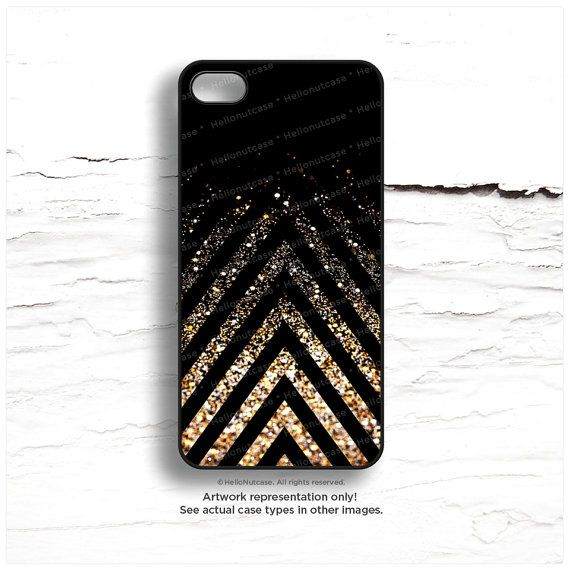 iPhone 6 Case Black iPhone 5C Case Glow Texture par HelloNutcase