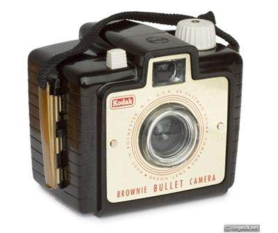 vintage cameras | Kodak Brownie Bullet Camera - Vintage Cameras