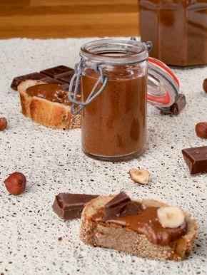 Pâte à tartiner maison chocolat / noisette façon Michalak