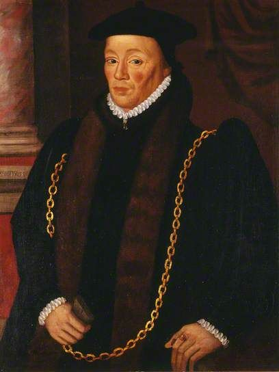 Sir William Garrard (1507–1571), Lord Mayor of London (1555) by unknown artist. City of London Corporation, Guildhall Art Gallery      Date painted: c.1568