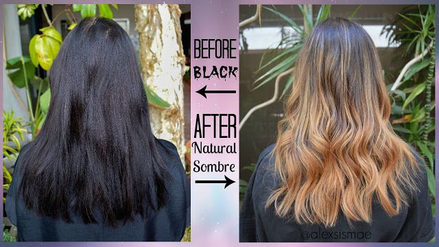 Alexsis Mae : Black hair → to Natural Ombre ft. Pravana Color Extractor + Continuum