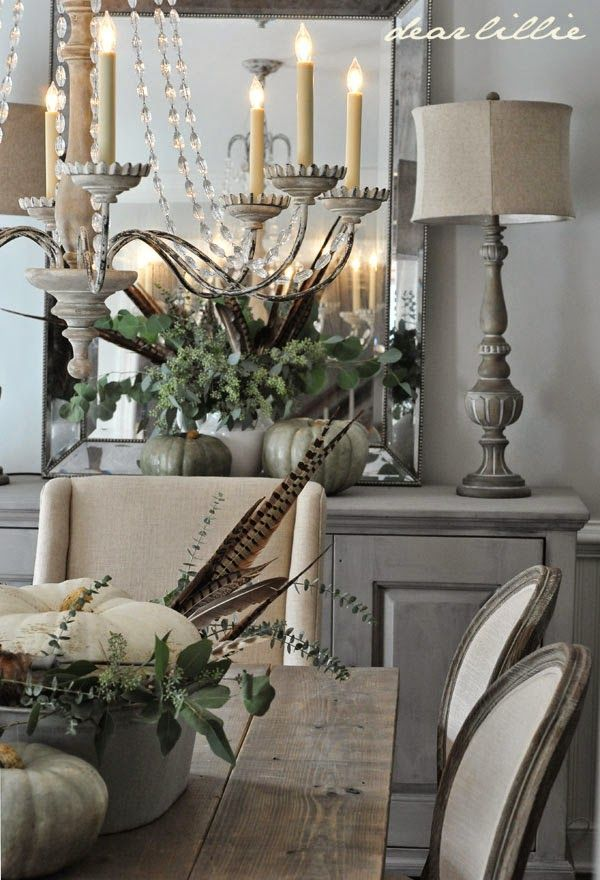 5 Rustic Glam Dining Rooms Decor Ideas Dining Room