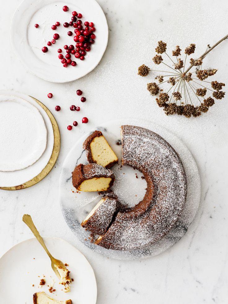 Upside down -juustokakku | K-Ruoka #joulu