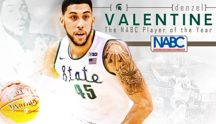 Denzel Valentine, National Association of Basketball Coaches National Player of the Year 2016