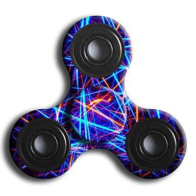 Spinners de mão Mão Spinner Brinquedos Tri-Spinner ABS EDCO stress e ansiedade alívio Brinquedos de escritório Por matar o tempo - BRL R$ 13,49