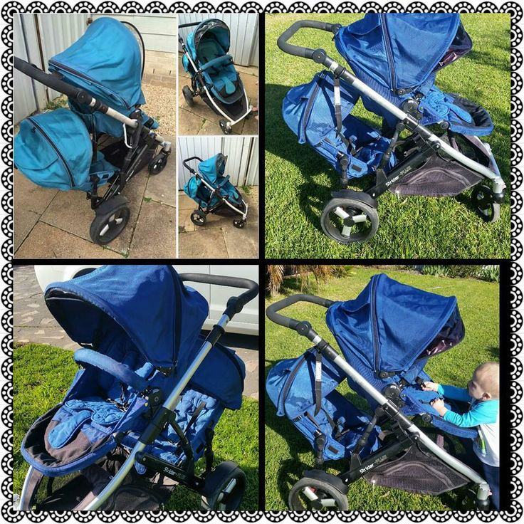 Idye Poly Pram Blue On Blue. Finished Product (With Images