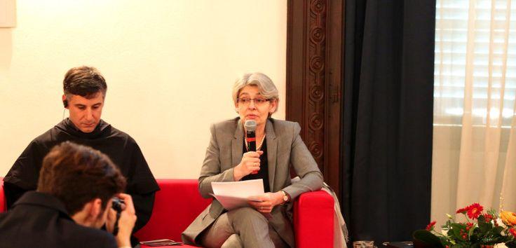 Giornata perugina per Irina Bokova, direttore generale dell'Unesco: in mattinata Laurea Honoris Causa in relazioni internazionali e cooperazione allo sviluppo, presso Università per Stranieri di Perugia, nel pomeriggio partecipazione al simposium presso il Wwap di Perugia sul tema dell'acqua.