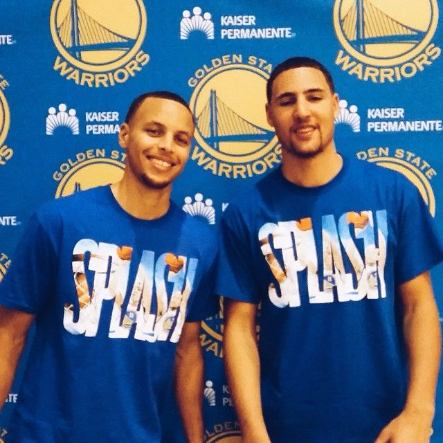 The #SplashBrothers are back in town. You know what that means? #Warriors basketball is just around the corner...