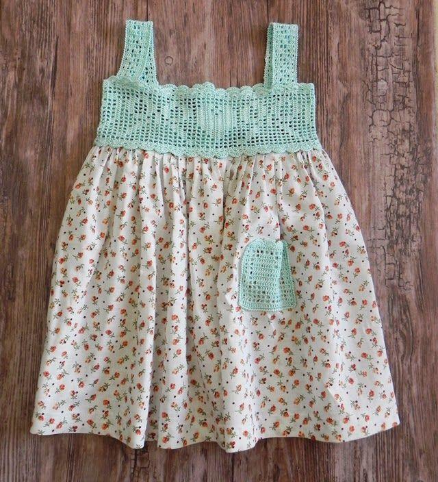 Cómo hacer un vestido de crochet o ganchillo