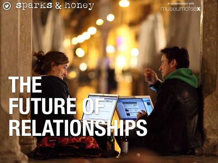 The future of relationships.