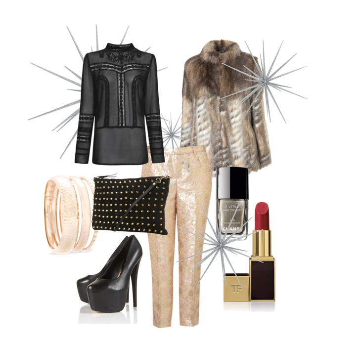 The Fashion Guide Blog : Christmas is all around… are you ready? Rule # 7: dress properly for the occasion.