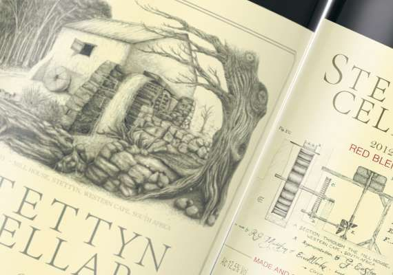 Product Label Design and Illustrations by Geoff Easton.