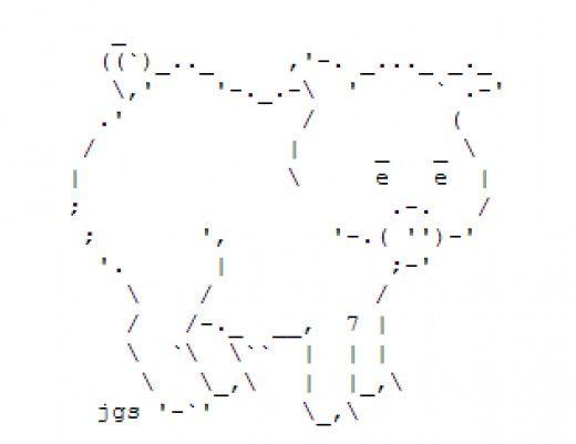 One Line Ascii Art New Year : Die besten ascii kunst ideen auf pinterest zeile