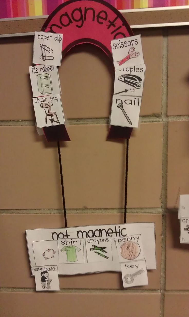 *Bunting, Books, and Bainbridge*: How To Make This Teacher's Heart Happy... Perfect for my Kindergarten magnet lesson!