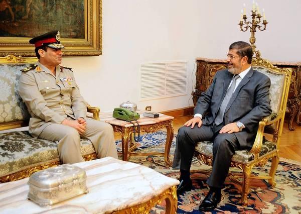 Egypt's new defense minister, Lt.Gen. Abdel Fattah Sisi