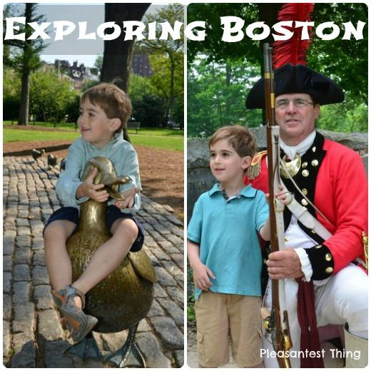 Exploring Boston with kids!