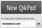 QikPad : Free Online Word Processor [WordPad Online]