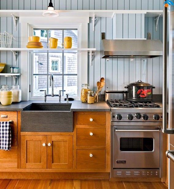 Warna dapur minimalis