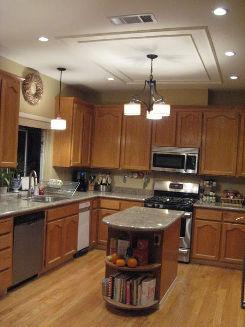 45 best images about parents on pinterest split level entryway islands and split foyer - How to get your kitchen ceiling lights right ...
