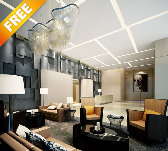 FREE SAMPLE INTERIOR 3d Models 58, This Collection Is