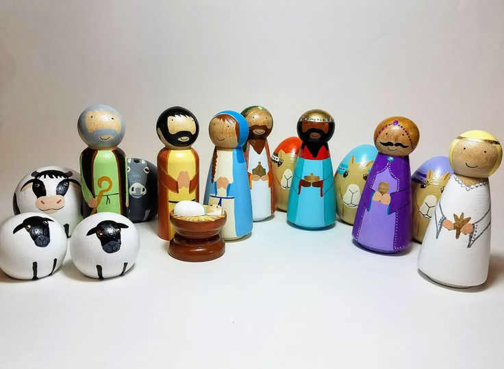 Best 25 Wooden Nativity Sets Ideas On Pinterest