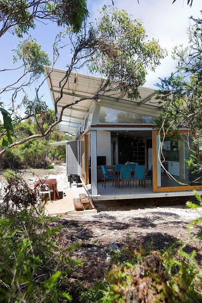 On the move: Stunning Supashak is designed to be modular and transportable | designed by Brent Dowsett of C4 Architects, Australia