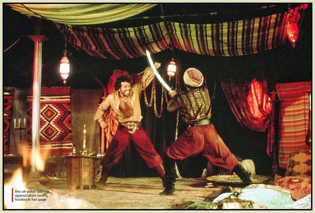 The Black Box Club: JANE SEYMOUR : TARYN POWER : PATRICK WAYNE : SINBAD AND THE EYE OF THE TIGER : GALLERY AND REVIEW.