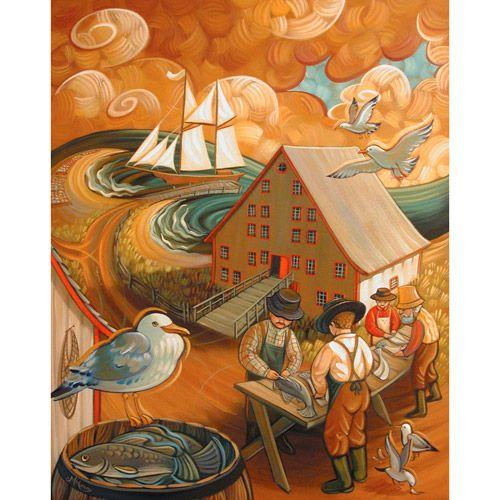 fishermen - Mylène Henry