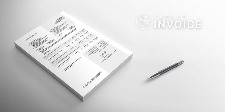Tablet Invoice Számla nyomtatási kép PDF design/Invoice print preview PDF design  http://tabletinvoice.com/