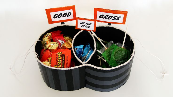 7 Best Infographic Trick Or Treat Bags Images On Pinterest