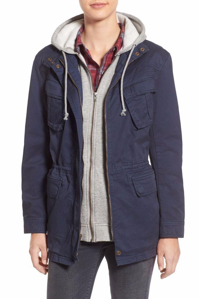 Treasure&Bond 'Explorer' Utility Jacket & Removable Vest Jacket size L $198 NWT #TreasureBond #Jacket #Casual