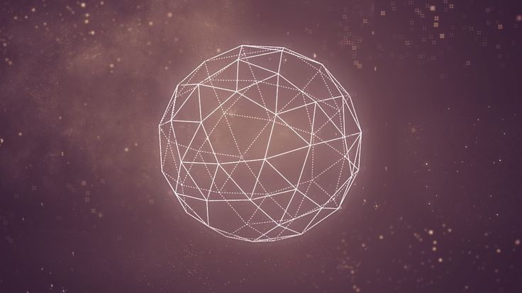 Geometric 3d background hd background hd screensavers hd for Outer space design melbourne