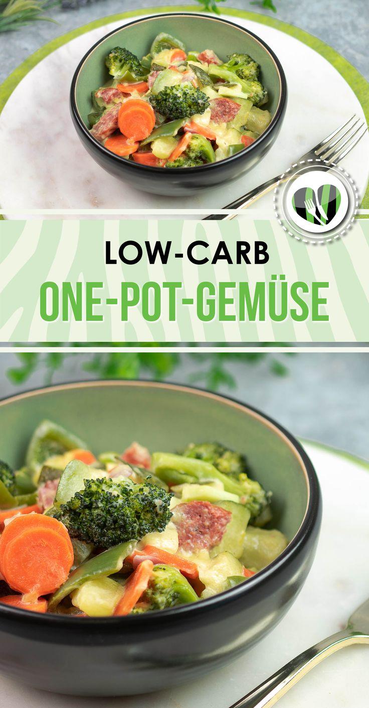 One-Pot-Gemüse – Leckere Low Carb Rezepte – schwarzgrueneszebra