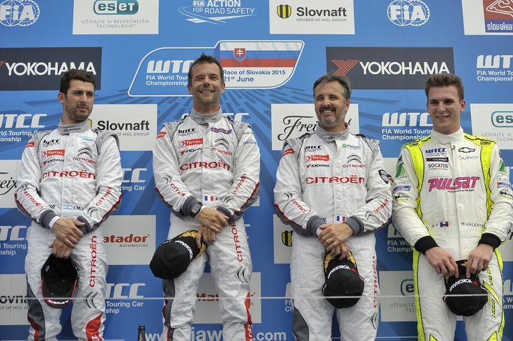 09- Sebastien Loeb - Citroen Total WTCC 68- Yvan Muller - Citroen Total WTCC 37- Jose Maria Lopez - Citroen Total WTCC