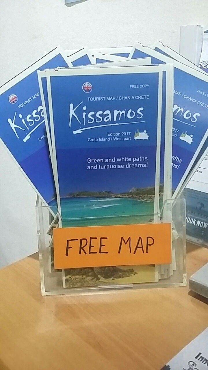 Kissamos free maps - Balos Travel