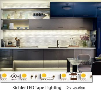 238 Best Images About Kitchen Lighting On Pinterest Led Tape Pot Racks And