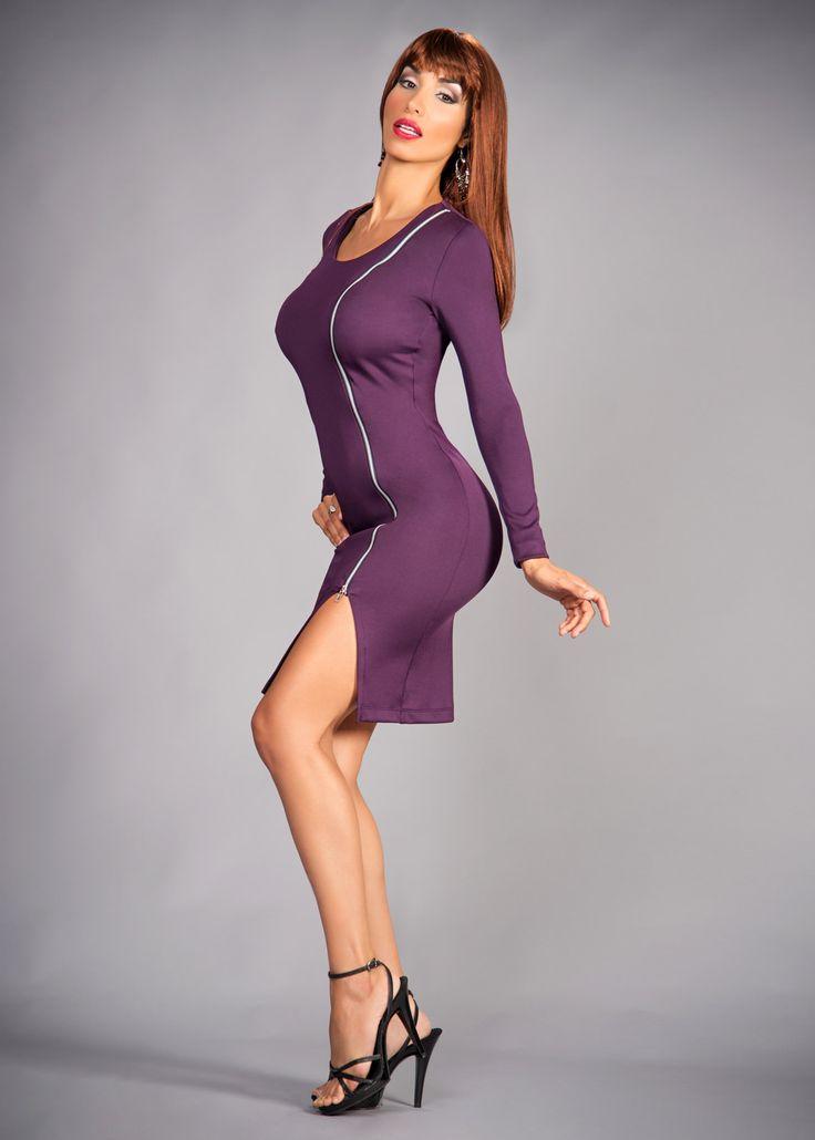 the sf zipper dress     jennisonbeautysupply