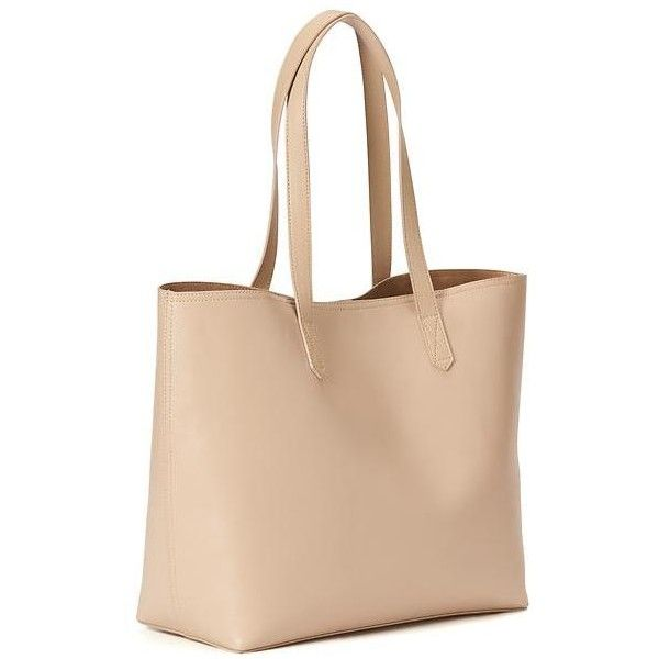 Old Navy Classic Faux Leather Tote For Women ($34) ❤ liked on Polyvore featuring bags, handbags, tote bags, vachetta, beige handbags, faux leather tote, vegan leather tote bag, vegan purses and vegan handbags